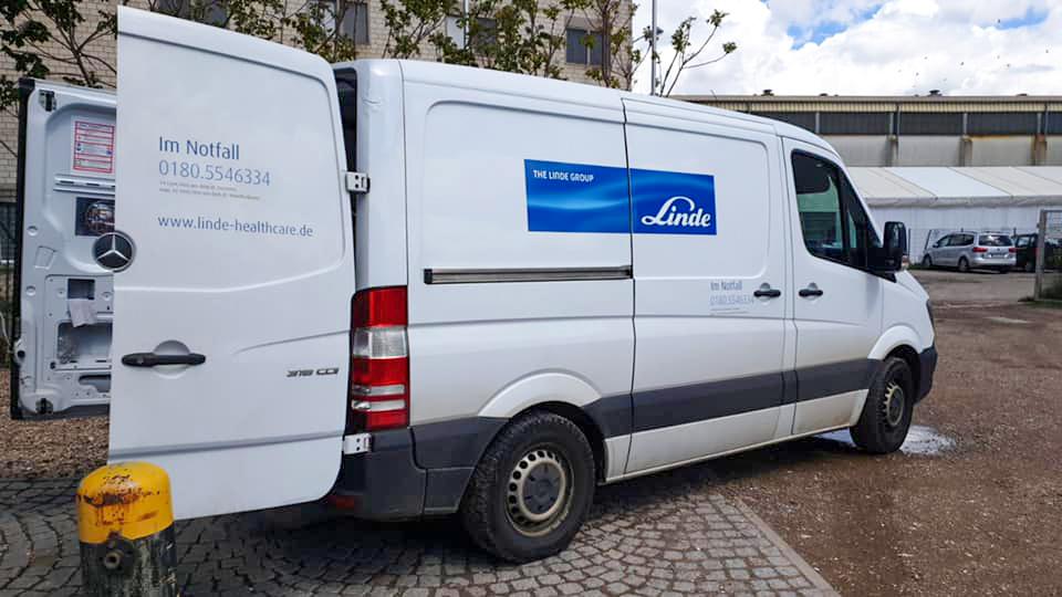 Fa. Linde – Neuer Partner