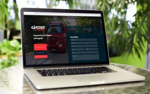 Website Relaunch Gärtner Transport